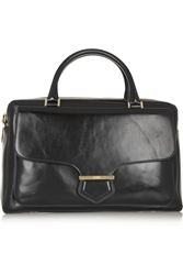 Tod's Military Large Glossed Leather Tote