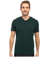 Mod O Doc El Porto Short Sleeve V Neck Tee Hunter Men's T Shirt Green