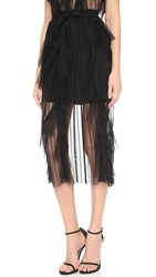 Alice Mccall I Want To Dance With Somebody Skirt Black