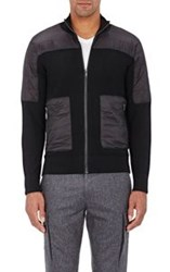 Michael Kors Tech Shoulder Thermal Cardigan Black