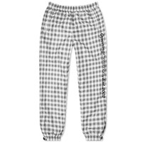 Opening Ceremony Plaid Nylon Jog Pant Black