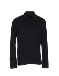 Zegna Sport Polo Shirts Dark Blue