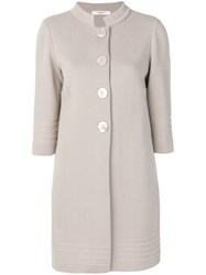 Charlott Single Breasted Coat Nude And Neutrals