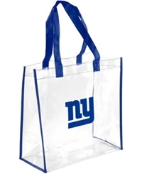 Forever Collectibles New York Giants Clear Tote Bag