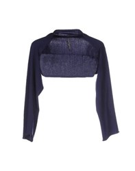 Liviana Conti Topwear Shrugs Women Dark Blue