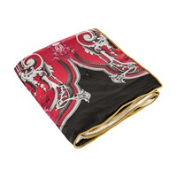 Roberto Cavalli Savage Silk Throw Red