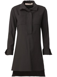 Marni High Low Hem Tunic Black