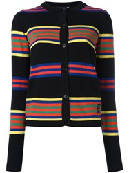 Love Moschino Striped Cardigan