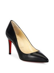 Christian Louboutin Pigalle 85 Nappa Shiny Leather Pumps Black