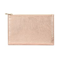 Aspinal Of London Essential Pouch Large Rose Gold