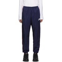 Nike Navy And Red Old School Shine Lounge Pants