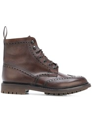 Church's Macfarlane Boots Calf Leather Leather Rubber 43.5 Brown