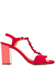 Chie Mihara Beijo Sandals Red