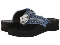 Mandf Western Morgan Black Women's Sandals