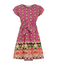 Etro Paisley Ikat Dress Female Pink