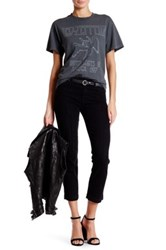 7 For All Mankind The Ankle Straight Jean Black