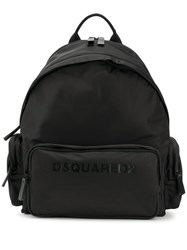 Dsquared2 Logo Printed Backpack M436