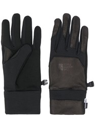 The North Face Leather Gloves Black