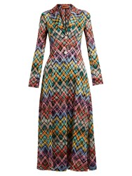 Missoni Zigzag Knit Coat Multi