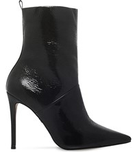 Kg By Kurt Geiger Rascal Patent Leather Calf Boots Black