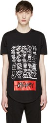 Pyer Moss Black Your Stupid Party T Shirt