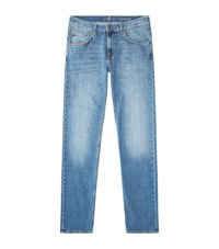 7 For All Mankind The Straight Aged Jeans Male Blue