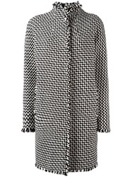 Gianluca Capannolo Tweed Coat Black