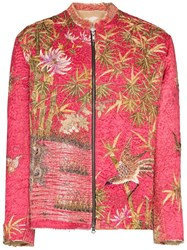 By Walid One Of A Kind Floral Jacket 60