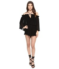 Alice Mccall Locomotion Playsuit Black Women's Jumpsuit And Rompers One Piece