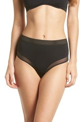 Vince Camuto Shelby High Waist Brief Black