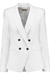 Michael Michael Kors Cotton Blend Blazer White