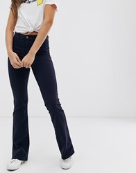 Pieces Flared Jeans Navy