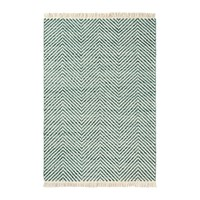 Brink And Campman Atelier Twill Rug 140X200cm Green