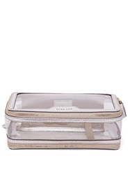 Anya Hindmarch In Flight Case Silver Multi