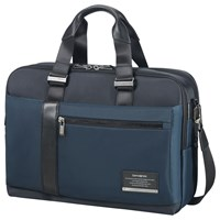 Samsonite Openroad Bailhandle Expandable 15.6Inch Laptop Briefcase Space Blue