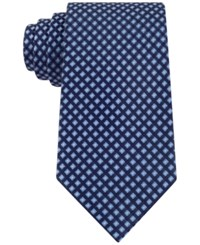 Club Room Men's Geo Pattern Classic Tie Only At Macy's Navy