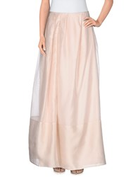 Armani Collezioni Skirts Long Skirts Women Light Pink