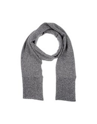 M.Grifoni Denim Oblong Scarves Grey