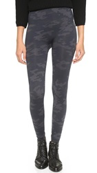 Spanx Seamless Camo Leggings Black Camo