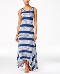 G.H. Bass And Co. Striped Maxi Dress Midnight Combo