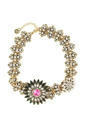 Maiocci Collection Textured Statement Necklace