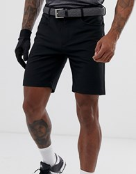 Calvin Klein Golf Genius Shorts In Black Grey
