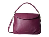 Cole Haan Magnolia Crossbody Hobo Violet Hobo Handbags Purple
