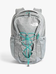 The North Face Jester Day Backpack Mid Dark Grey Heather New Green