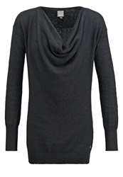Bench Ahead Jumper Black Marl