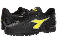 Diadora Maracana 18 Tf Black Fluo Yellow Soccer Shoes
