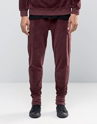 Systvm Abel Joggers In Velour Brown