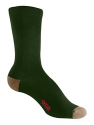 Craghoppers Nosilife Travel Twin Pack Socks Green