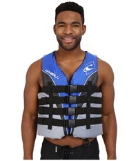 O'neill Superlite Uscg Vest Pacific Smoke Black White Men's Swimwear