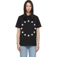 Etudes Studio Black Wonder Europa T Shirt